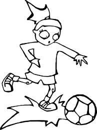zombie kids playing soccer playing football coloring page