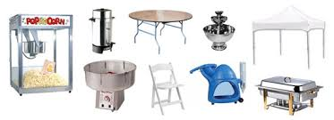 wedding rental equipment party rental and party supplies in iowa city ia