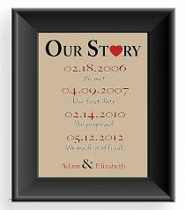 anniversary gifts for 1 year wedding anniversary gifts for him image collections wedding