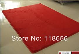 Red Washable Rug 120 160cm Brown Carpets For Bedroom Washable Super Cute R Rug