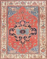 antique persian serapi rug 47339 by nazmiyal