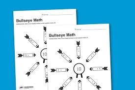 worksheet wednesday bullseye math paging supermom