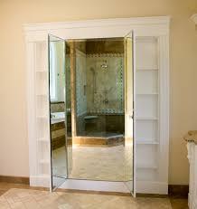 custom vanity mirror with hidden storage sun coast construction inc