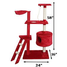 Cat Furniture Oxgord Premium Cat Tree Tower Condos Tanga