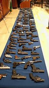 nypd announces 250 illegal guns seized ny daily news