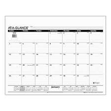 Burgundy Desk Pad Desk Pad Calendar Office U0026 Mailing Costco