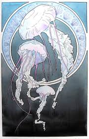 285 best jellyfish images on pinterest jelly fish drawings and