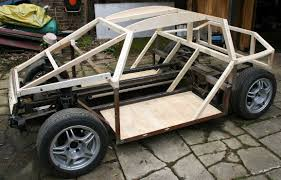 wooden car city sports car coach work build a timber framed wooden diy