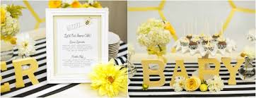 to bee baby shower bee baby shower archives luxe linen