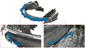 sensors free full text accuracy analysis of a dam model from