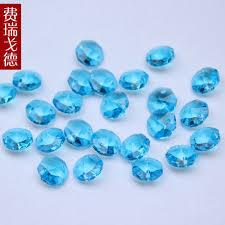 beads decoration home aliexpress com buy 2000pcs octagon prism aqua color 14mm