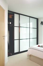 Small Bedroom Sliding Wardrobes Shaker Panel U0026 Mirror Door White Sliding Wardrobe Doors Doors