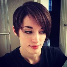 long sided hair cuts to the back asymmetrical pixie cut photo haircuts pinterest
