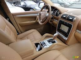 porsche cayenne interior havanna sand beige interior 2006 porsche cayenne turbo photo