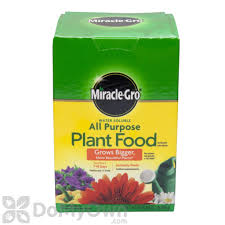 gro water soluble all purpose plant food