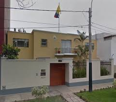 consolato colombiano consulado de colombia en lima en san isidro