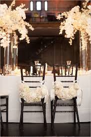 black chiavari chairs monochrome wedding ideas table decor black and white black