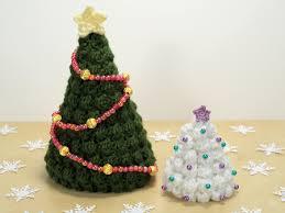 crocheted christmas planetjune by june gilbank christmas trees crochet pattern