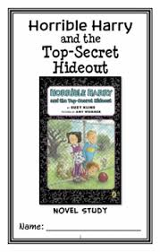 horrible harry and the top secret hideout suzy novel study
