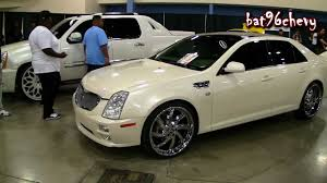 2006 cadillac cts rims for sale pearl white cadillac sts on 22 forgiatos chrome wheels 1080p hd