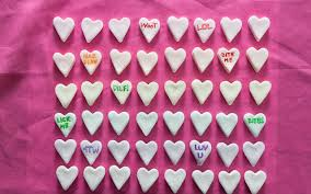 candy hearts diy conversation heart candy recipe chowhound
