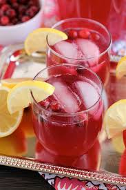 Non Alcoholic Thanksgiving Drinks Sparkling Cranberry Punch Recipe Alcoholic Party Drinks