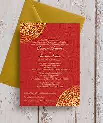 asian wedding invitation gold mandala indian asian wedding invitation from 1 00 each