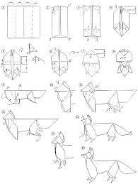 origami fox instructions origami fox instructions free printable