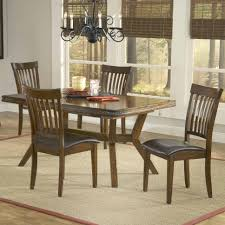 rectangular leg extension dining table by hillsdale wolf and