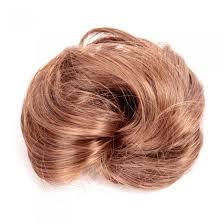 bun scrunchie dlarra e light brown pony hair extension bun wig hairpiece