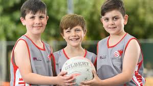 boy s more boys signing up to play netball including with adelaide s