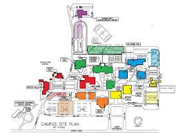 Scc Map Evacuation Map Sandhills Community College