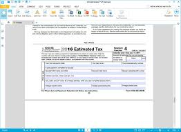 Irs Tax Estimate Forms by Irs Form 1040 Es Wondershare Pdfelement To The Rescue