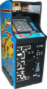 Ms Pacman Cabinet Ms Pac Man Pacman And Galaga Easter Eggs Playing Instructions