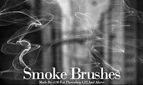 33 sets of free smoke photoshop brushes