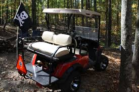 hauling golf cart pulling camper with tailgate down anyone done