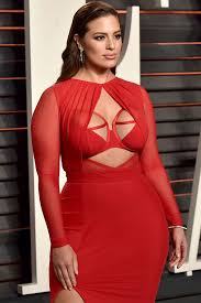 ashley graham is divine in bridal inspired lingerie as plus size