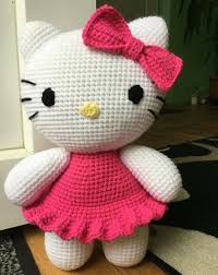crochet children big kitty free pattern