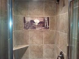 Rustic Tile Bathroom - bathroom tile mural elk mural by designers choice tile rustic