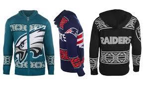 nfl s zip hoodie sweaters groupon