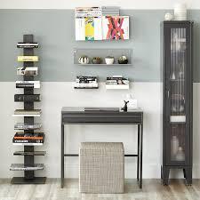 Invisible Bookshelf Diy Bookcase Vertical Bookshelf Dwr Sapien Modern Bookshelves For