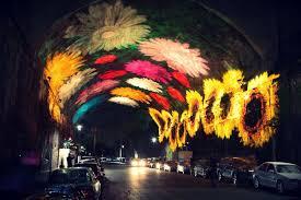 projection lights interactive light projection animates sydney