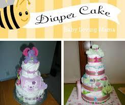 baby shower gift homemade diaper cake craft tutorial finding zest