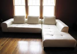 sofa stunning white sofa with wooden frame and base with ushions