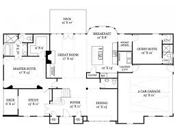 eplans new american house plan elegant floor plan 2832 square