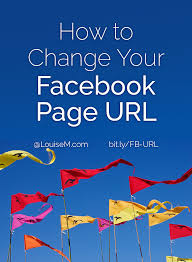 What Is Vanity Url How To Change Your Facebook Page Url Username 2015