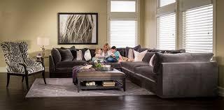 mccreary sectional sofa mccreary modern 3 sectional in vernon flannel summer catalog