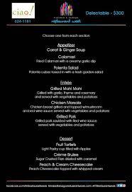 restaurants with light menus participating restaurants menus 2016 trinidad restaurant week