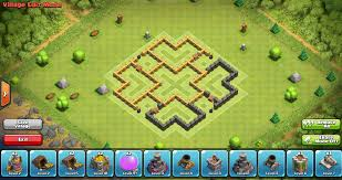 coc map layout th6 clockwork6 town hall 6 farming base