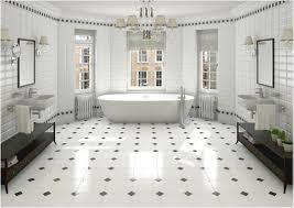 black white bathroom tile home design ideas